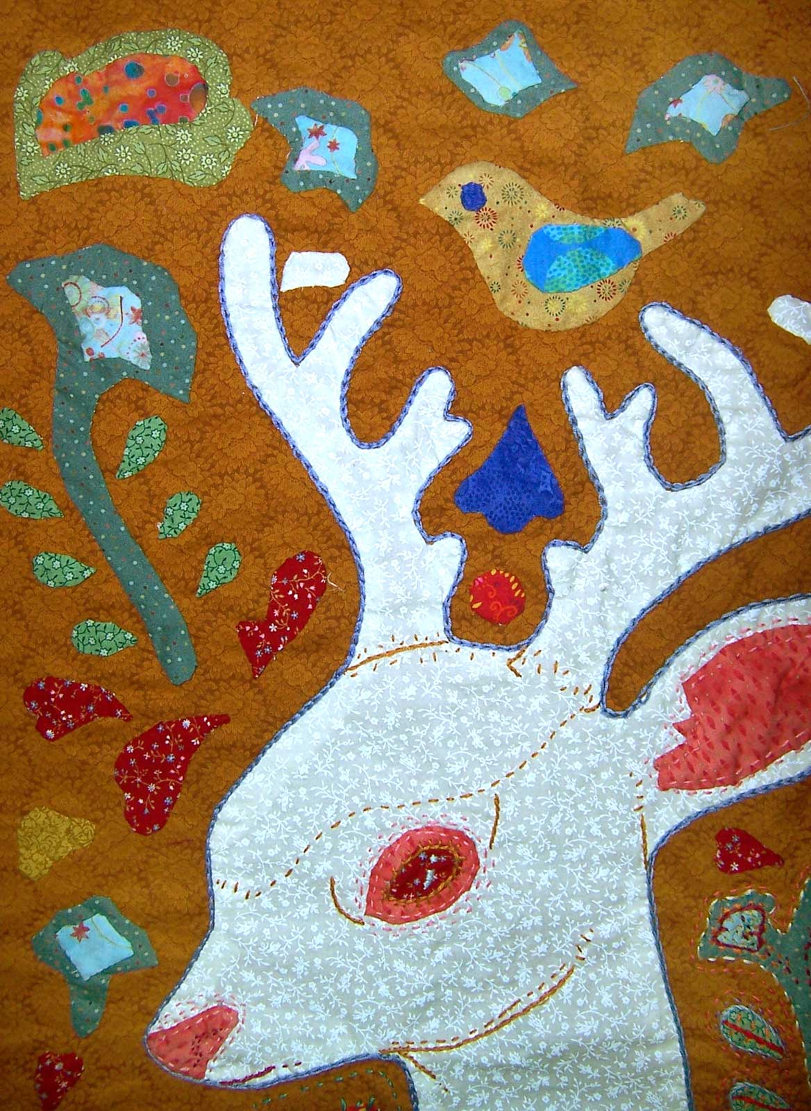 Deer Quilt no embroidery