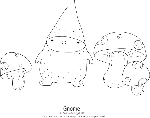 Gnome: The Embroidery Pattern for January