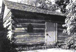 Martha Jane Huskey Ogle cabin, Gatlinburg, Tennessee