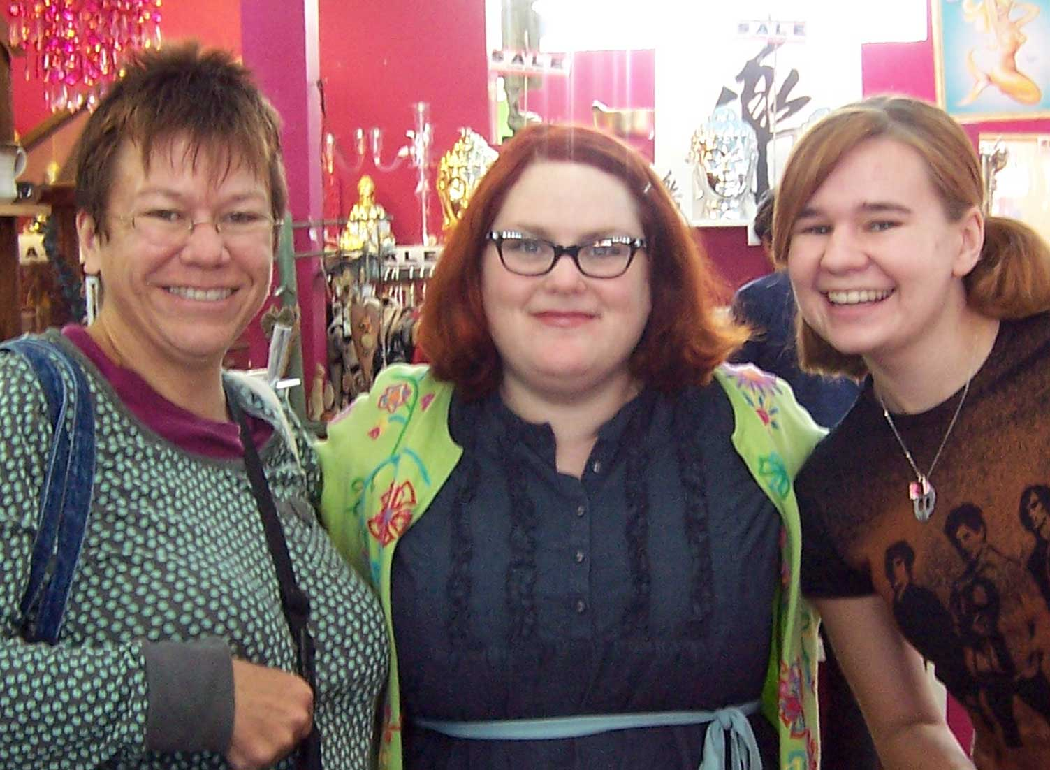 Me, Jenny Ryan, and Amy