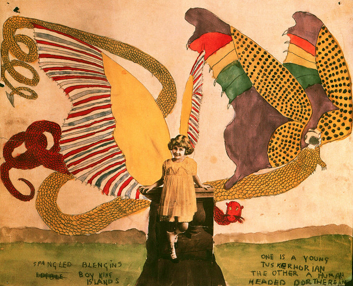 Henry Darger, Artwork