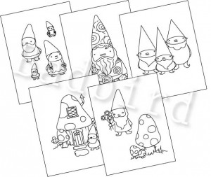 Gnome Patterns at Etsy!