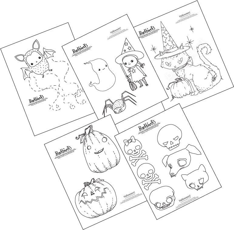 embroidery pattern set just for halloween - Halloween Hand Embroidery Patterns