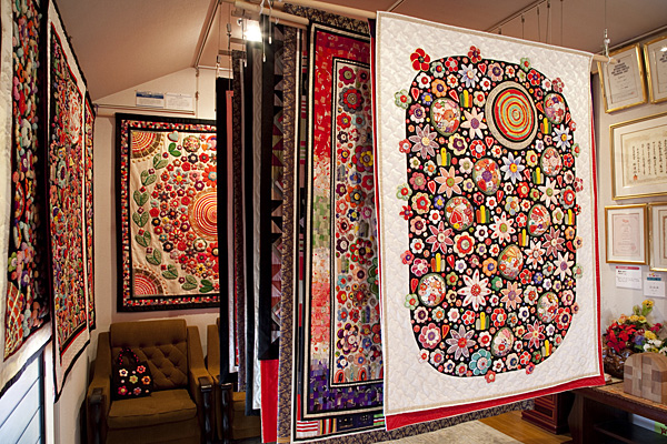 quilts japan web  article on