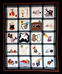 The Sun Sets on Sunbonnet Sue by The Seamster\'s Union (Local #500