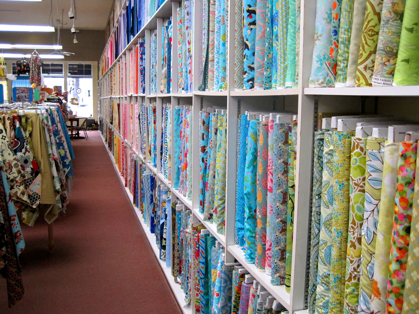 Hart s fabric best fabric store ever andrea zuill s blog for Fabric sellers